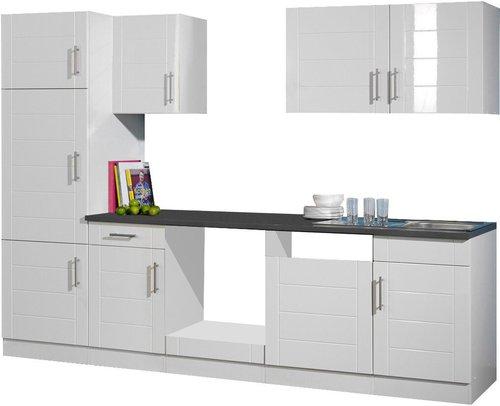 held m bel nevada k chenzeile 280 cm preisvergleich ab 737. Black Bedroom Furniture Sets. Home Design Ideas