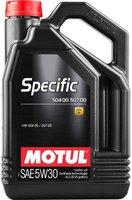 Motul Specific 50400 50700 5W-30 (5 l)