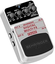 Behringer FX-600 Digitales Multi Effektpedal