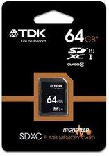 TDK SDXC 64GB Class 10 (T78718)