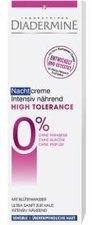 Diadermine High Tolerance Nachtcreme Intensiv nährend (50 ml)