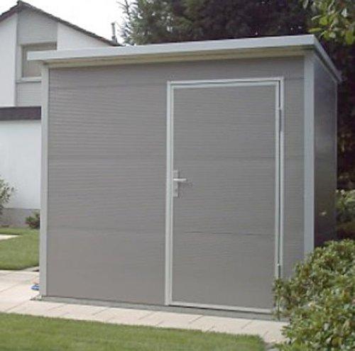 Stahl Gartenhaus nws gartenhaus pultdach 150 x 150 cm (stahl) günstig kaufen