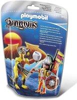 Playmobil Dragons - Rock Dragon mit Kämpfer (5462)