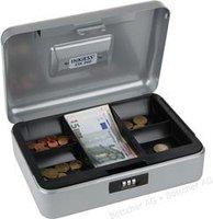 Inkiess Geldkassette mit Zahlenschloss 110 x 95 x 60 mm