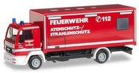 Herpa MAN LE 2000 Evo Koffer-LKW Atemschutz / Strahlenschutz