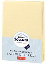 Zöllner Spannbettuch Frottee vanille (40 x 90)