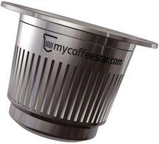 mycoffeestar nachf llbare kaffee kapsel nespresso preisvergleich ab 39 90. Black Bedroom Furniture Sets. Home Design Ideas