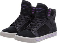Supra Footwear Skytop black/purple/grey