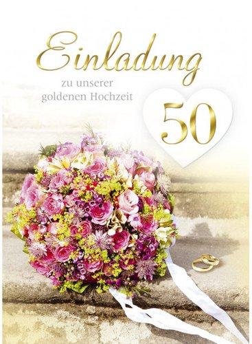 Einladungskarte Goldene Hochzeit Kaufen Gunstig Im Preisvergleich