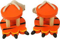 Bigjigs Toys Tiger Footwalkers