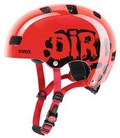 Uvex Kid 3 Dirtbike rot