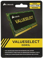 Corsair ValueSelect 16GB Kit SO-DIMM DDR3 PC3-12800 CL11 (CMSO16GX3M2C1600C11)