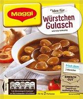 Maggi fix & frisch: Würstchen Gulasch