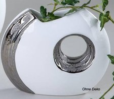 Formano Vase mit Loch 19 cm