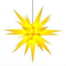 Herrnhuter Sterne Stern gelb Außenbereich (130 cm)