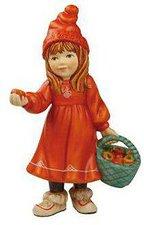 Goebel Ein Wintermärchen Britta mit Äpfeln