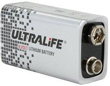 Ultralife U9VL Lithium Power Cell 9V 1200 mAh