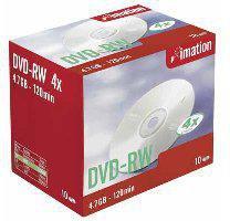 Imation DVD-RW 4,7GB 120min 4x 10er Jewelcase