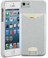 Case-mate Barely There ID Case Glossy weiß (iPhone 5/5S)