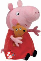 TY Beanie Buddies - Peppa Pig the Pig