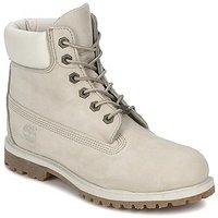 Timberland Women's 6-Inch Premium Waterproof Boot (23623) winter-white