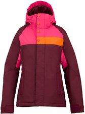 Burton Women's Method Snowboard Jacket Sangria Colorblock