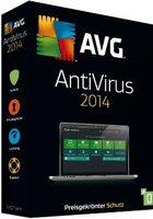 GRISOFT AVG AntiVirus 2014 (1 User) (DE) (Win) (Box)