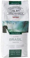 Compagnia dellarabica Kaffe Brasil Santos 100% Arabica Bohnen (500 g)