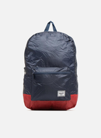 Herschel Packable Backpack navy/red