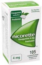 Pharma Gerke Nicorette 4 mg Freshmint Kaugummi (105 Stk.)