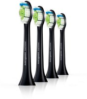 Philips Ersatzbürsten HX6064/33 DiamondClean Black Edition (4er Pack)