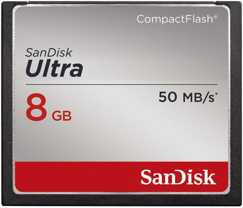 SanDisk Ultra Compact Flash 8GB (SDCFHS-008G-G46)