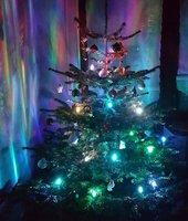 Trango Brilon 24 LED Weihnachtskerzen Stecksystem warmweiß