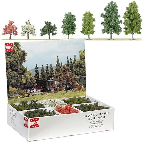 Busch Großpackung 45 Laub- und Obstbäume (6334)