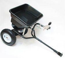 Dema Streuwagen 45 Liter / 36 kg mit Anhängerkupplung