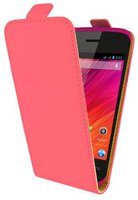Swiss Charger Leather Flip Case (Wiko Ozzy)