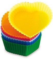 Globo Lighting Muffin-Form HERZ 6-tlg.
