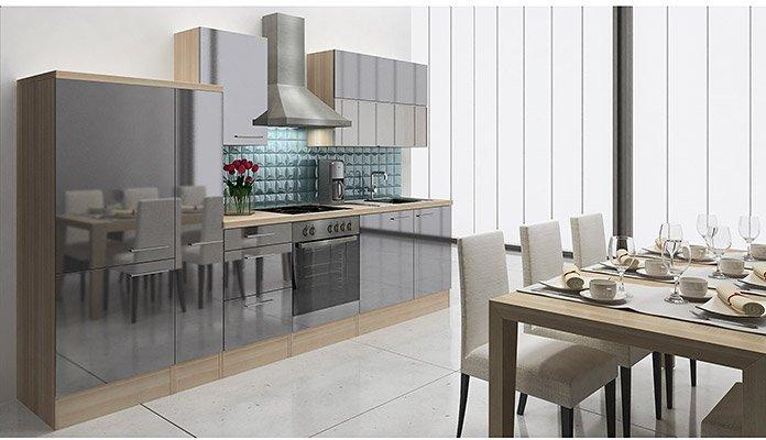 respekta küchenzeile premium (310 cm) preisvergleich ab 1.798,60 €
