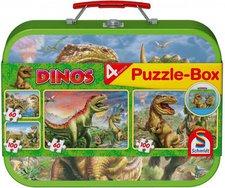 Schmidt Spiele Puzzle-Box: Dinosaurier
