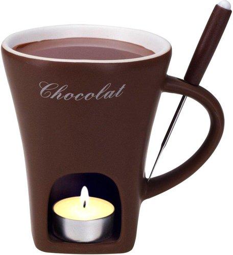 nouvel schokoladenfondue set tasse preisvergleich ab 7 95. Black Bedroom Furniture Sets. Home Design Ideas