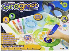 Hasbro Spirograph - Optical 3D Artist Set
