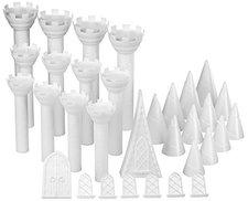 Wilton Tortenständer in Form eines romantischen Schlosses, 32-teiliges Set