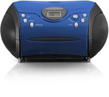 Lenco SCD-24 MP3 blau/schwarz