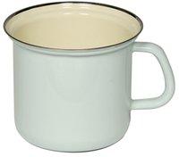 Kelomat Milchtopf mit Chromrand 14 cm