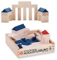 Spielzeug Klingende Bausteine im Beutel 40mm Steine Bauklötze Holzspielzeug NEU