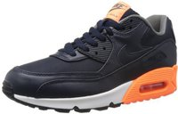 Nike Air Max 90 Premium dark obsidian/med base grey/orange