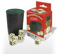Nürnberger Spielkarten Würfelbecher mit 6 Würfeln (2210005061)