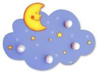 Waldi Deckenleuchte Wolke La Luna 4-flg. + 10 LED
