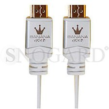 BananaGold Travel-Line HDMI High Speed mit Ethernet weiß (1,0m)