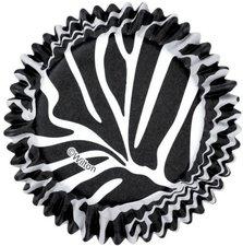 Wilton Papier-Backförmchen Zebramuster